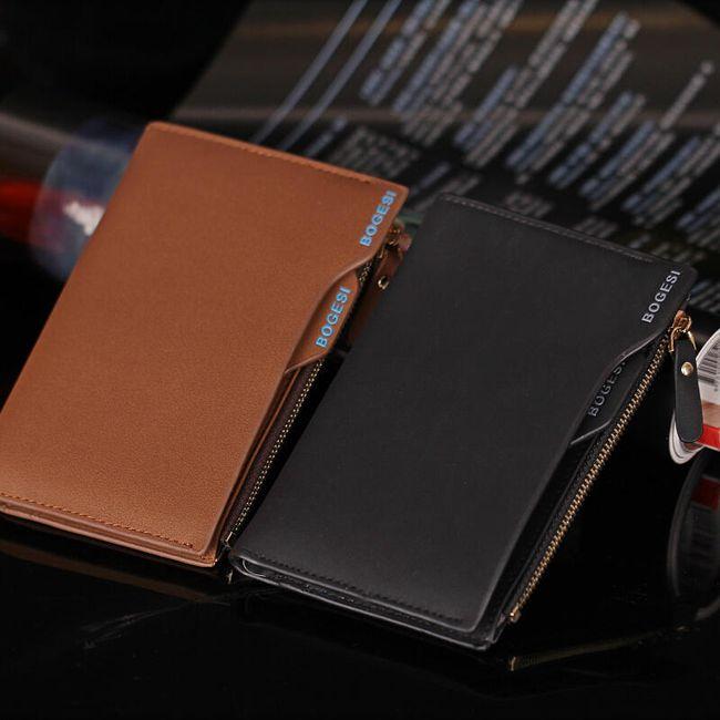 Elegáns férfi pénztárca - 2 szín