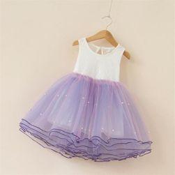 Rochie fermecătoare pentru fete cu fustă bogată - 5 culori