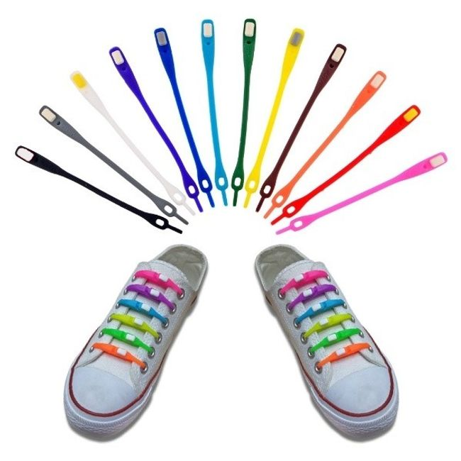 Силиконовые шнурки 1
