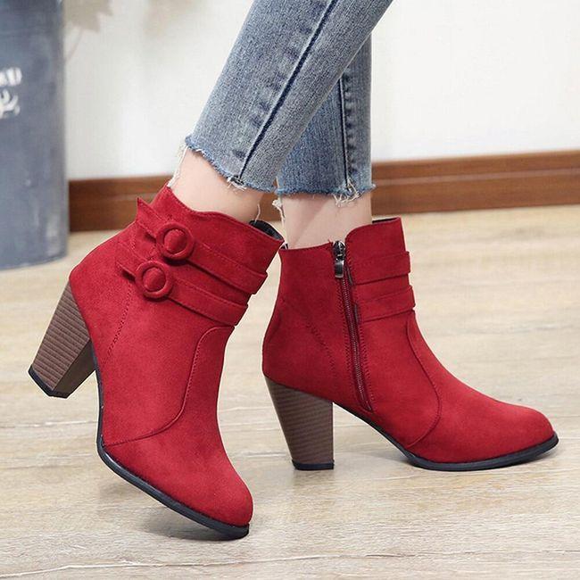 Ženske cipele do članka Sylvia 1