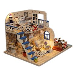 DIY komplet - Hišica za lutke