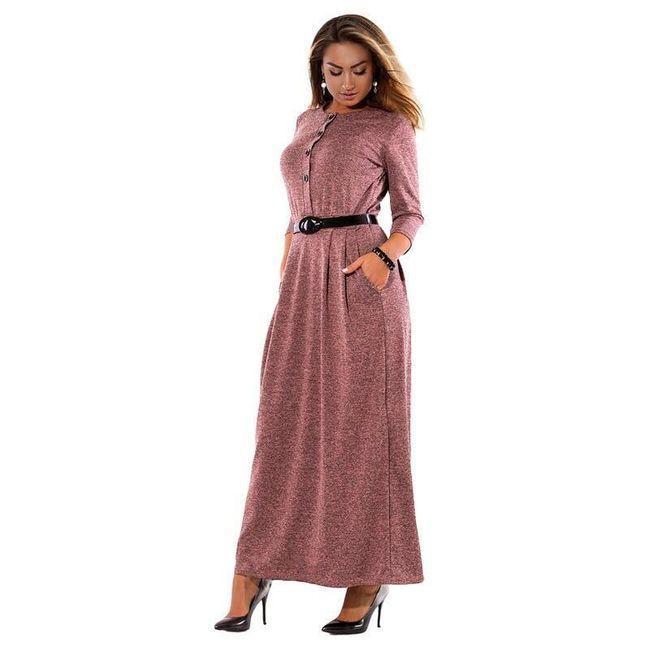 Damska sukienka z długimi rękawami Baylie 1