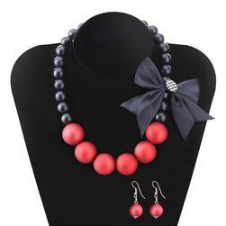 Elegantní sada šperků s mašličkami