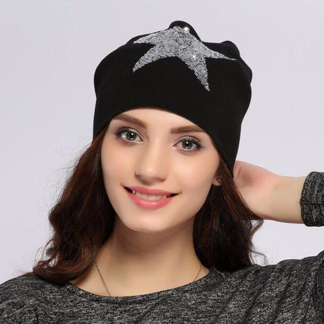 Bayan kış şapkası M33 1