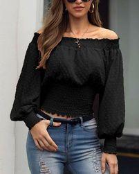 Ženska majica z dolgimi rokavi Ottavia
