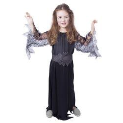 Dětský kostým černá čarodějnice/Halloween (S) RZ_885301