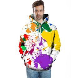 Bluza z kolorowymi kleksami