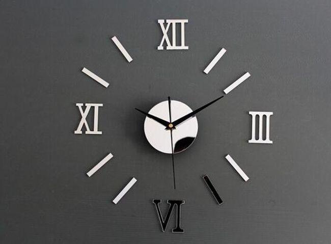 Tükör hatású fali óra  1