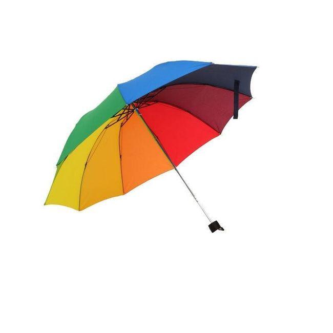 Składana parasolka tęczowa 1
