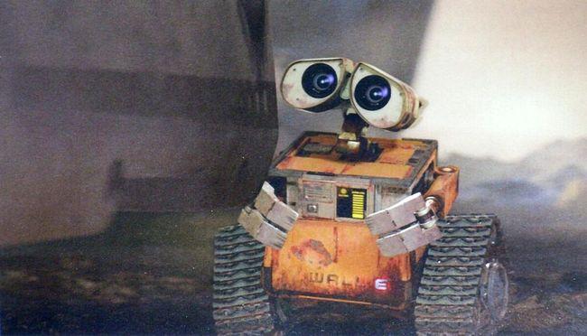 Robocik Wall-E - naciągany 1
