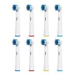 Калъфки за глави на електрическа зъбна четка 8x PRO