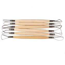 Инструменти за скулптура и керамика - 6 бр