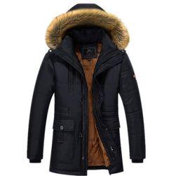 Pánská zimní bunda Jarrett s umělým kožíškem