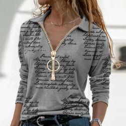 T-shirt damski z długim rękawem VER9