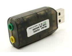 USB externí zvuková karta 5.1
