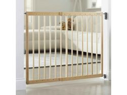 Dětská zábrana s posuvnou šířkou dřevo TK_04433930
