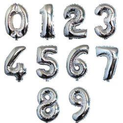 Надуваеми балони за праздненства - цифри