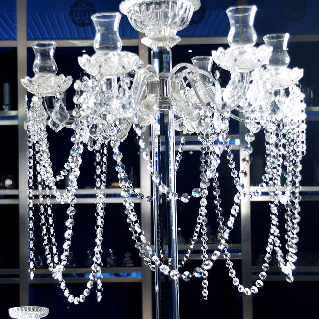 Dekorace na lustr v křišťálovém stylu 1