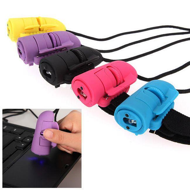 Optická myš na prst v pěti barevných provedeních 1
