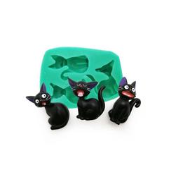 Macskás  szilikon forma