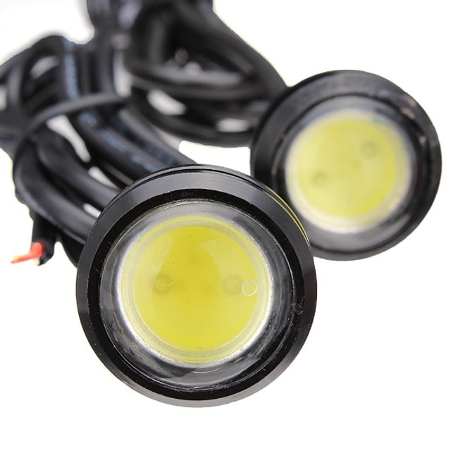 LED lámpák (sas szem) - 2 darab, 3 színű fény 1