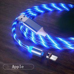 Magnetický USB nabíjecí kabel Jett Modrá pro iphone-1m