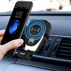 Автомобильный держатель для телефона с беспроводной зарядкой Solken