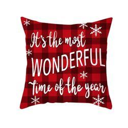 Novogodišnja navlaka za jastuk Rf12