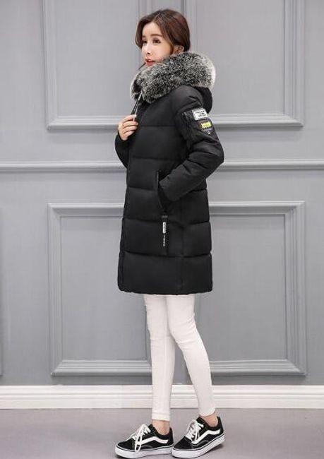 Dámská zimní bunda Alexia - Černá-M 1