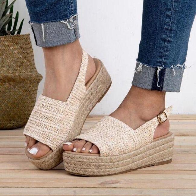Bayan platformlu sandalet Meliis 1
