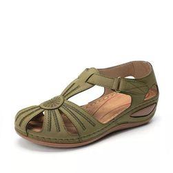 Dámské sandály Molly - Světle Zelená-1-8.5