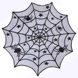 Ubrus s motivem pavučiny