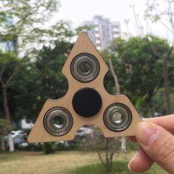 Drveni Fidget spinner - trouglasti
