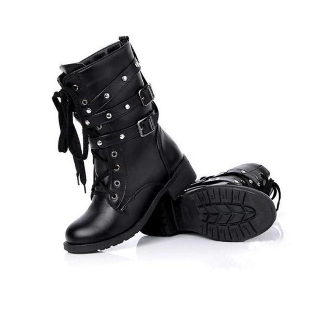 Černá šněrovací obuv 1