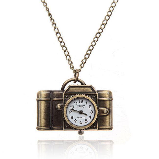 Vintage řetízkové hodinky fotoaparát 1