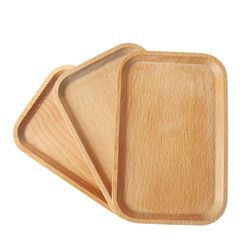 Деревянная тарелка DV56