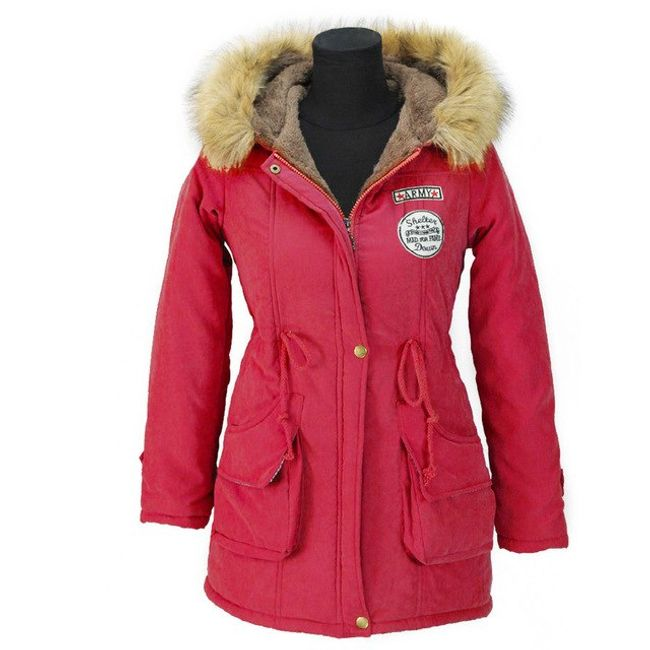 Ženska jakna sa krznom - 13 boja 1