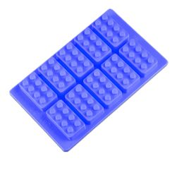 Formă de gheață pentru iubitorii jocului Lego