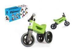 Odrážadlo FUNNY WHEELS Rider Šport zelené 2v1, výška sedla 28 / 30cm nosnosť 25kg 18m + v RM_11408571