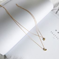 Женская двойное ожерелье Anitta
