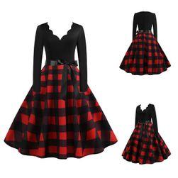 Long sleeve dress D68 velikost 6
