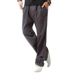 Kényelmes férfi nadrág