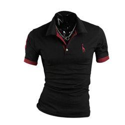 Męska koszulka polo z kołnierzykiem