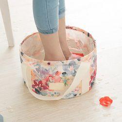 Cestovní kbelík v designu tašky