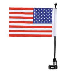 Univerzální americká vlaječka na motorku