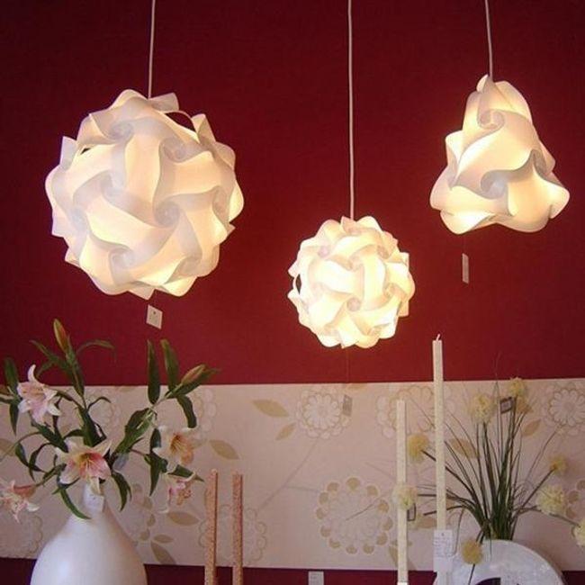 Dekoracija za viseča svetila 1