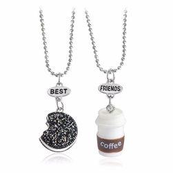 Náhrdelník pro nejlepší přátelé - 2 kusy