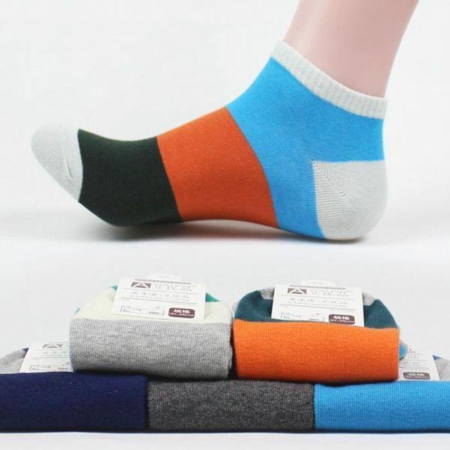 Férfi boka zokni, különböző színekben 1