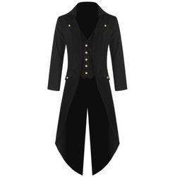 Dlouhý pánský kabát - 4 barvy