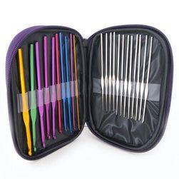 Set de instrumnte pentru tricotat - 22 bucăți